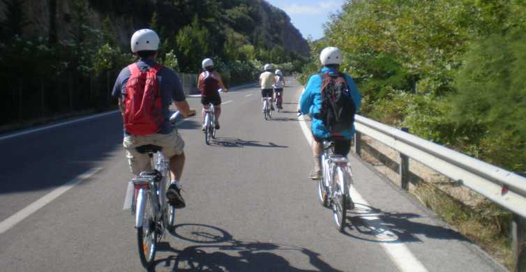 From Rethymno: Guided E-Bike Tour to Myli Gorge with Lunch