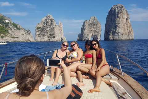 Capri & Blue Grotto Small Group Tour By Boat From Sorrento