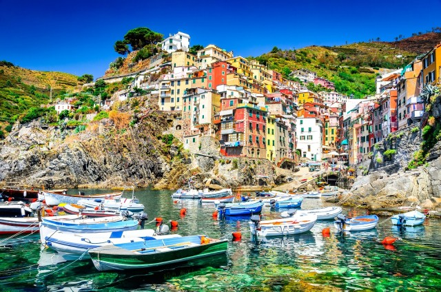 From La Spezia: Cinque Terre Cruise Shore Excursion