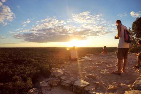Cancun: Ganztägige private Coba Sunset Colours Tour mit Mittagessen