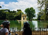 Rom: Private E-Bike-Tour mit lokalem Essen