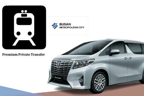 Private Transfer between Busan Train Station and your Hotel