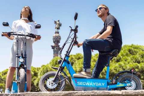 Barcelona: Verken Montjuïc op je e-scooter met gps