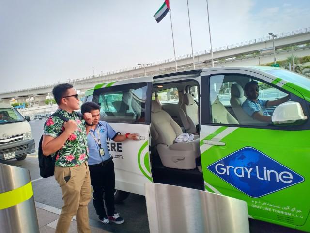 Muscat: privétransfer van het vliegveld naar Muscat City Hotels