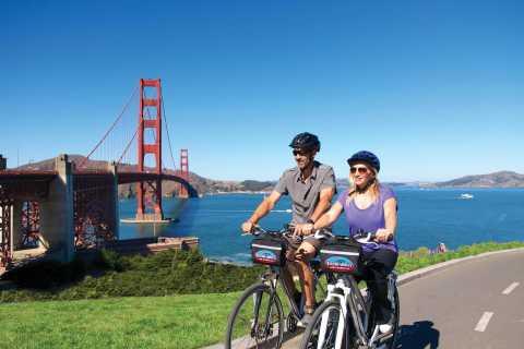 San Francisco: Golden Gate Bridge to Sausalito Bike Tour