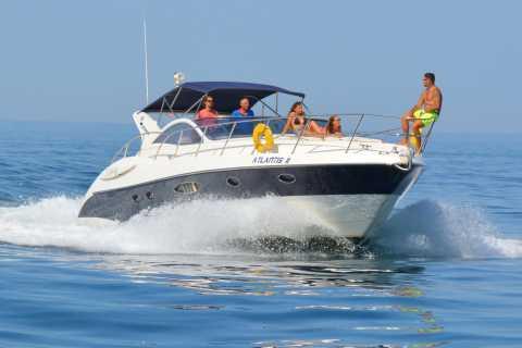 Quarteira: Atlantis Yacht Charter & Algarve Coast Tour