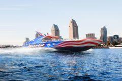 San Diego: Patriot Jet Boat Passeio emocionante