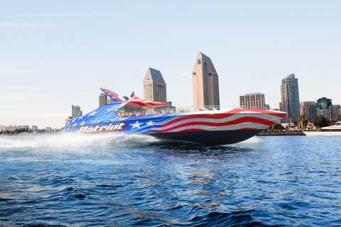 San Diego: Patriot Jet Boat Thrill Ride