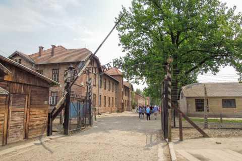 Cracóvia: Auschwitz e Wieliczka Salt Mine Combo Tour