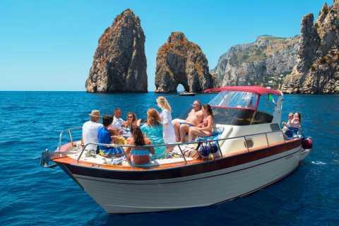 Capri: Full-Day Small Group Boat Tour