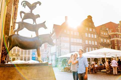 Bremen: Guided Tour of City Center in English