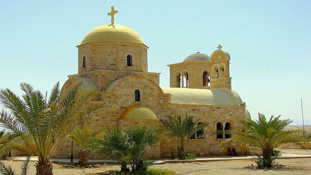 Madaba, Mount Nebo en Amman Bethany Private Day Trip