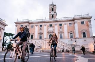 Rom: 3,5 Stunden Fahrradtour in kleiner Gruppe