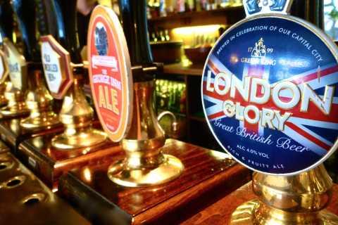 London: Walking Historic Pub Private Group Tour