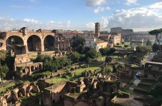 Rom: 3-stündiges Skip-the-Line-Kolosseum, Forum und Palatin