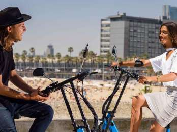 Barcelona: GPS-geführte E-Scooter-Tour zur Sagrada Família