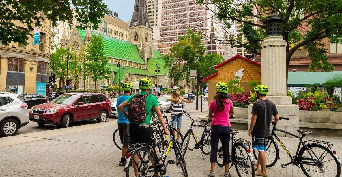 Montreal: excursão guiada de bicicleta pela cidade, porto velho e platô