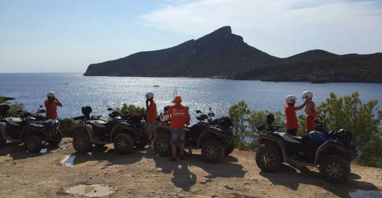 4-Hour Adventure Quad Tour to Dragonera Island