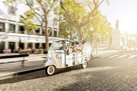 Lisbon: West Hills Tuk Tuk Tour
