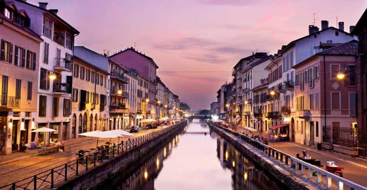 Milan: 1-Hour Navigli Guided Walking Experience