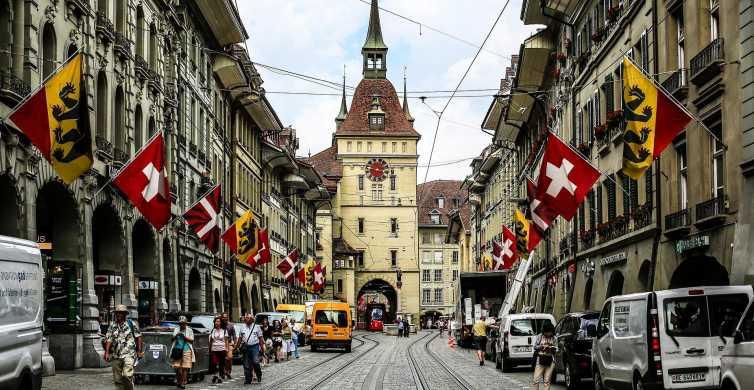 Ab Zürich/Luzern: Bern Hauptstadt und Land Tagesausflug