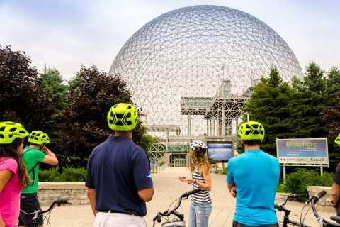 Montreal: Stadtarchitektur geführte Fahrradtour
