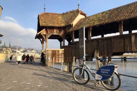 Lucerne: City Biking and Walking Tour