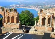 Taormina: Geführte historische Stadtrundfahrt