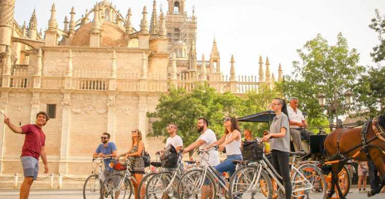 Sevilla: historische fietstocht van 3 uur