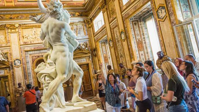 Roma: tour guiado por la Galería Borghese