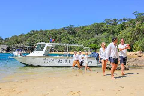 Sydney: Hafen-Bootsfahrt, Geheime Strände & Guide