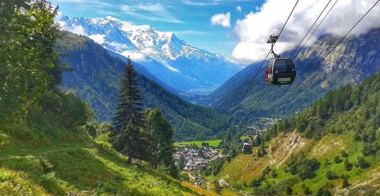 Desde Ginebra: tour guiado de 1 día a Chamonix y Mont-Blanc