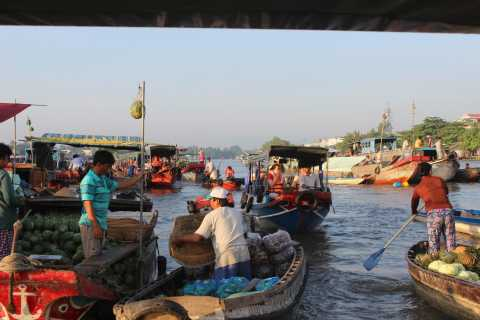 Saigon: Private One Day Tour to Cai Rang Floating Market