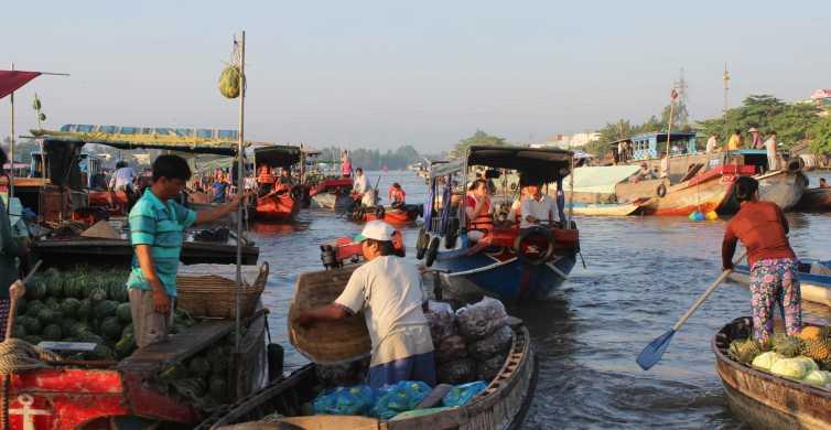 Saigon: Private One Day Tour to Cai Rang Floating Market