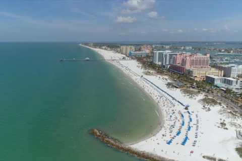 From Orlando: Clearwater Beach with Lunch Day Trip