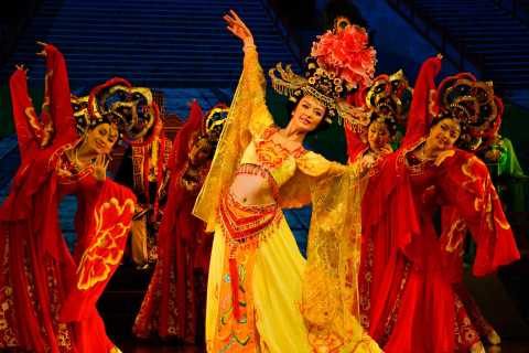 Xi'an Great Tang Dynasty Show and Dumpling Dinner