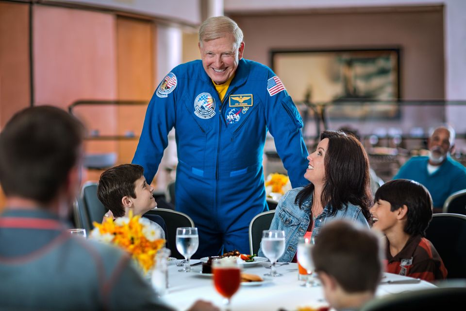 Kennedy Space Center Tour and Dine with an Astronaut