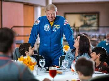 Kennedy Space Center: Tour und Essen mit einem Astronauten
