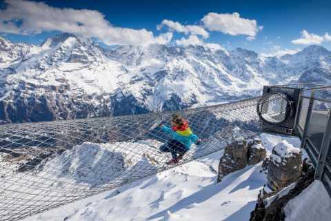 From Geneva: Schilthorn Day Trip and Bond World 007 Ticket