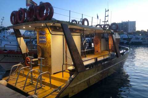 Ibiza: 2,5 uur Private Sunset Boat Cruise voor Grote groepen