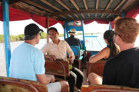 From Siem Reap: Private Tonle Sap Floating Village Tour