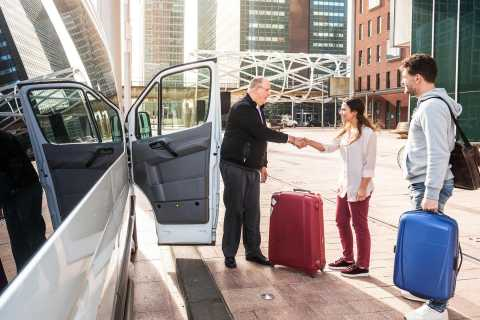 Istanbul: New Istanbul Airport Shared-Transfer Service