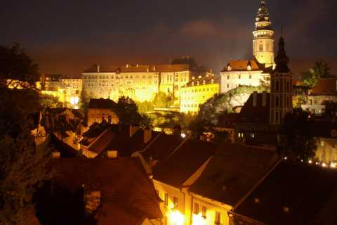 Český Krumlov: Night Walking Tour with a Professional Guide