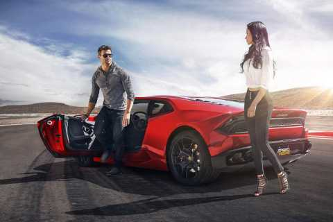Las Vegas: 3 Exotic Supercar Driving Experience