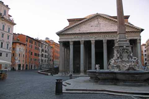 Rome: Early-Bird Streets, Piazzas and Fountains City Tour