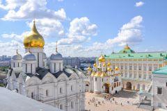 Moscou: Kremlin, Praça Vermelha e Metrô Tour com Pick-Up