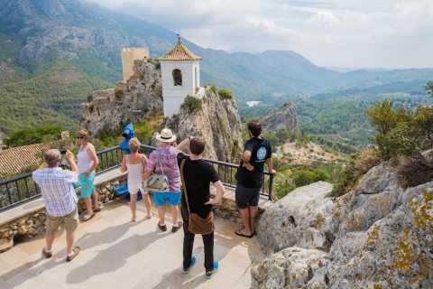 From Alicante: Guadalest Valley and Algar Waterfalls Tour