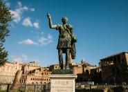 Ab Civitavecchia: Tagestour zum Forum Romanum und Kolosseum