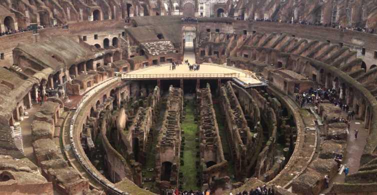 Antigua Roma y Coliseo: tour a pie de 3 h en grupo reducido