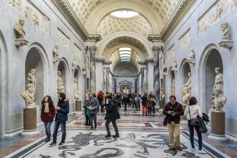 Roma: Excursão privada de dia inteiro a partir de Civitavecchia